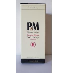 P&M Single Malt signature 70cl