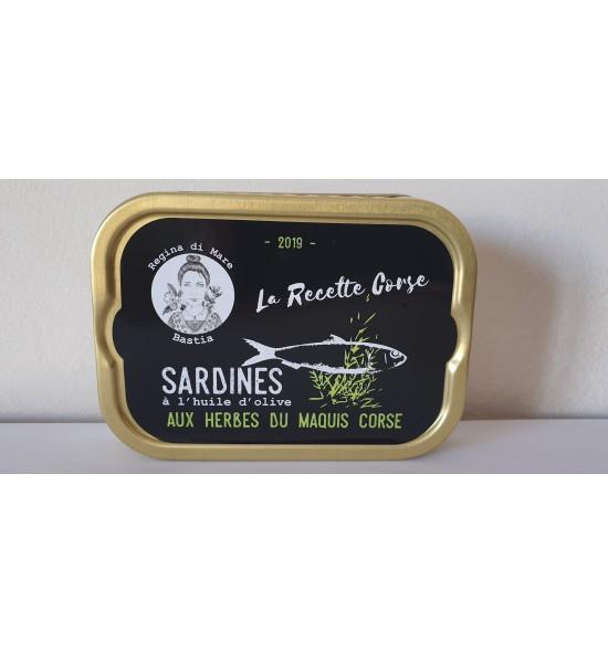 Sardines aux herbes du maquis corse