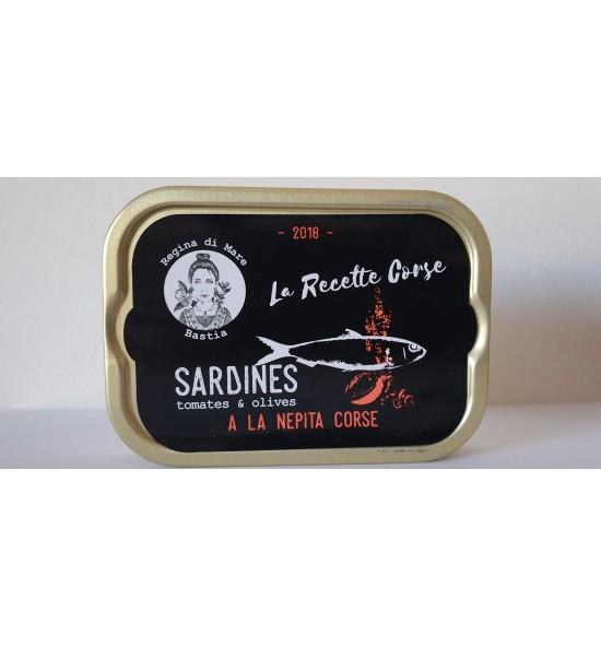 Sardines à la nepita corse
