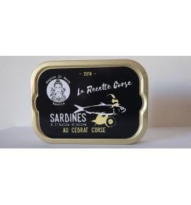 Sardines au cedrat corse