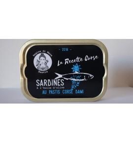 Sardines au pastis corse Dami